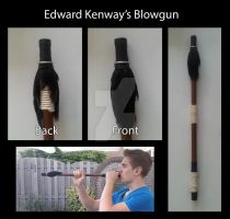 Edward Kenway's Blowgun by MitchTheChief