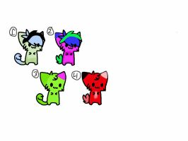 Kitten Adoptables #3: 1 POINT by Foreststone