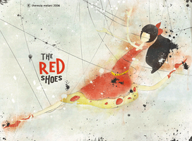 the red shoes by melaniolivia