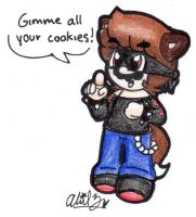 Double M Wants Your Cookies by BabyAbbieStar