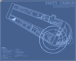 Party Cannon Blueprints by doctorpepperphd