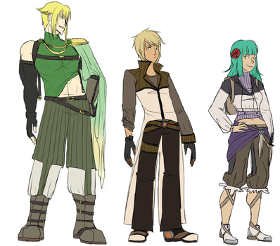 Au Outfits by Mixtilly