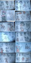 scribbles (includes marios) by jawazcript