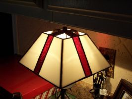 Stained Glass Lamp Shade by PandoraX