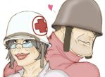 TF2 Medic and Soldier by Shelest92