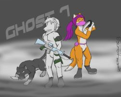 Ghost team 7 by Ice-Dragon220