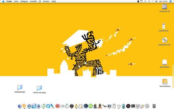 Tiger desktop by Laseranders