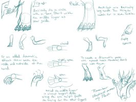 Dragon Hand-Foot Tutorial by NakaseArt