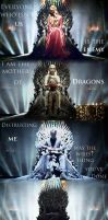 The Iron Throne by buffybot101