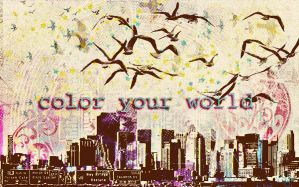 color your world by LilySea