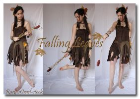 Falling Leaves pack 6 by RaeyenIrael-Stock