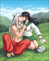 kiriban - Inuyasha and Kagome by Eldanis