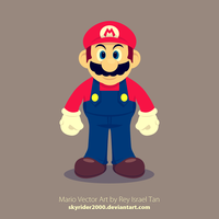 Mario Vector Art by skyrider2000