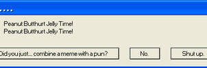 Error Message - The Worst Pun Ever by GMYumil