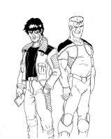 Pete and Rich I by Onore-Otaku