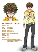 PRELUDE - Character Sheet (Hunter) by cup-drop