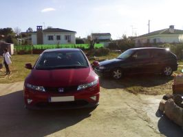 Civic Type S vs Astra Gsi by Tay-GSi
