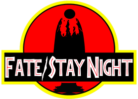 Fate/Stay Night Jurassic Park Logo by FlandresBowler