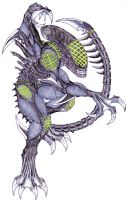 Grid Alien: Kickin' Ass for the Hive by Kaptain-Kefiah