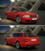 Audi RS 4 '01 by GT6-Garage