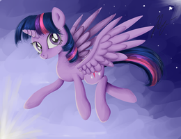 Princess Twilight by SakuraWolfer