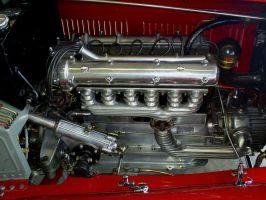 1932 Alfa Romeo 6C engine by Partywave
