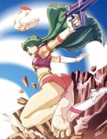 Gotta Get Back In Time by scamwich