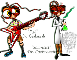 The Two Faces of Dr. Cockroach by TheDocRoach