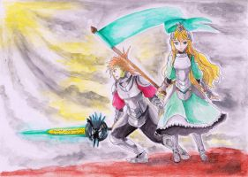 Princess and the Knight by Sharila-Malryn