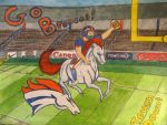 Ride to Victory - Christmas Drawing 2015 by CheshireDivine