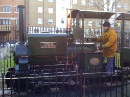 T. Wicksteed the steam engine by YanamationPictures