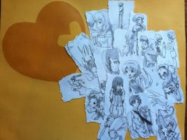 Katawa Shoujo Collage by AnonymousUprising