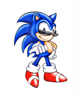 Classic Sonic - request by sensum