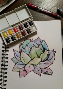 lil succulent by BlankInSpace