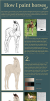 Foal - Tutorial! by feverpaint