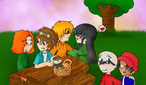 KND in the park xDD by JaelynGS