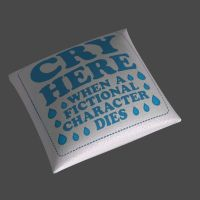 Cry Here Pillow by jc-starstorm