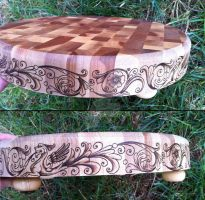2014 Deruta Style Cutting Board Sides by parizadhe