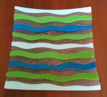 Marine Wavy Plate by Fields-Of-Clover