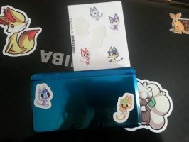 Ds Stickers by Ambercatlucky2