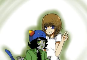 Alisepic and Nepeta by rockleeofthesand