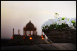 Basket of Flowers by uzey