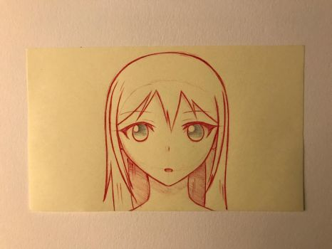 Pen and Ink 13- Color Inversion Experiment by DrakenAnime