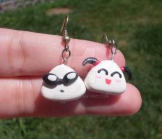 School Rumble earrings by kikums