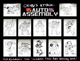 Auto Assembly 09 Chibis by Kat-Nicholson