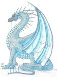 Ice Dragon Again by Scellanis
