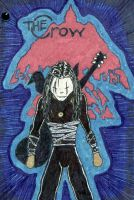 The Crow Musicbook Cover by duckness