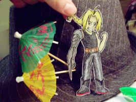 Edward Elric Paperchild by StatusDelirious