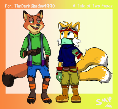A Tale of Two Foxes by StoryMasterPurple