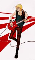 Mello: Guitar and punk rock by TheRedClouds